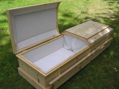Oregon wood caskets